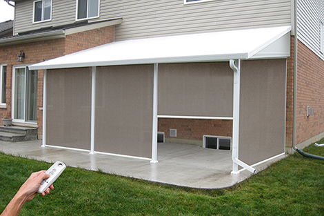 Retractable Outdoor Screens